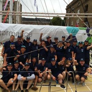 The leg 1 crew