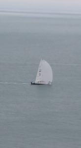 Sailing past Dover